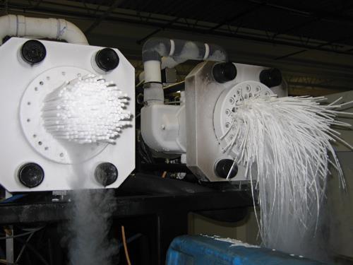تولید یخ خشک